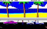 Police Quest: In Pursuit of the Death Angel Amiga Pulled over a drunk driver.