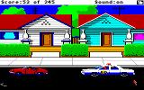 Police Quest: In Pursuit of the Death Angel Amiga Pulled over a speeder.