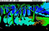 Space Quest II: Chapter II - Vohaul's Revenge Amiga Trudging through the swamp.