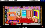 King's Quest III: To Heir is Human Amiga Manannan's bedroom.