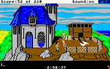 King's Quest III: To Heir is Human Amiga Outside.