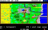 King's Quest III: To Heir is Human Amiga The map.
