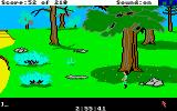 King's Quest III: To Heir is Human Amiga Under a large tree.