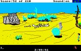 King's Quest III: To Heir is Human Amiga The desert.