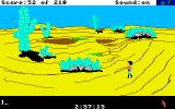 King's Quest III: To Heir is Human Amiga This desert is big.