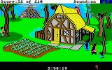 King's Quest III: To Heir is Human Amiga The three bear's home.