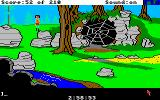 King's Quest III: To Heir is Human Amiga Near a large spider web.