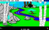 King's Quest III: To Heir is Human Amiga Near a river.