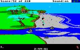 King's Quest III: To Heir is Human Amiga On the beach.
