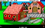 King's Quest III: To Heir is Human Amiga At the seaside town.