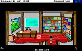 King's Quest III: To Heir is Human Amiga Manannan's study.