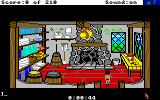 King's Quest III: To Heir is Human Amiga In the kitchen.