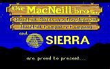Gold Rush! Amiga The MacNeill Bros, and Sierra present...
