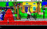 Gold Rush! Amiga Outside of your house.