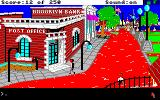 Gold Rush! Amiga Outside of the post office.