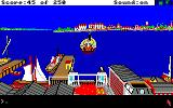 Gold Rush! Amiga Here comes the ferry.