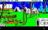 Gold Rush! Amiga At the wagon camp.