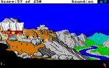Gold Rush! Amiga At a steep cliff.