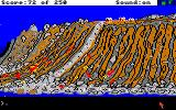 Gold Rush! Amiga The oxen go down to the river for a drink.