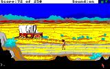 Gold Rush! Amiga The desert, and I'm really hungry and thirsty!