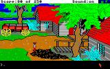 Gold Rush! Amiga In a town.