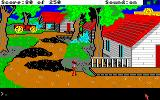 Gold Rush! Amiga Walking along in the town.