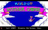 Mixed-Up Mother Goose Amiga Title screen
