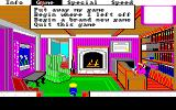Mixed-Up Mother Goose Amiga AGI in-game menu system