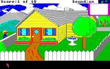 Mixed-Up Mother Goose Amiga Yellow house