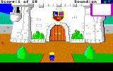 Mixed-Up Mother Goose Amiga Outside of castle