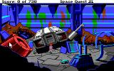 Space Quest III: The Pirates of Pestulon Amiga Starting point