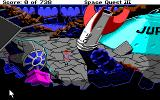 Space Quest III: The Pirates of Pestulon Amiga Acme rocket and star wars fighter