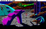 Space Quest III: The Pirates of Pestulon Amiga Going to elevator