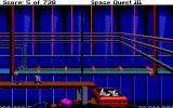Space Quest III: The Pirates of Pestulon Amiga Jump off conveyor belt