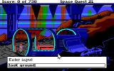Space Quest III: The Pirates of Pestulon Amiga Typing command