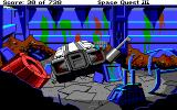 Space Quest III: The Pirates of Pestulon Amiga Picking up important cargo