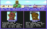 Kings of the Beach Commodore 64 Lester and Mack's info. Yes, that's the same Lester from Skate or Die.