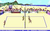 Kings of the Beach Commodore 64 A tournament game in Rio de Janeiro.