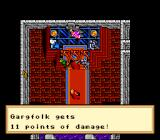 Ultima VI: The False Prophet SNES Receiving damage