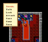Ultima VI: The False Prophet SNES Non battle menu