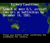 P.T.O.: Pacific Theater of Operations II SNES Victory conditions