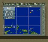 P.T.O.: Pacific Theater of Operations II SNES Submenu
