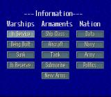 P.T.O.: Pacific Theater of Operations II SNES Get information on various subjects