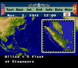 P.T.O.: Pacific Theater of Operations SNES Close up map