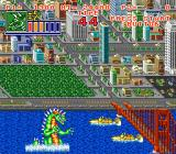 King of the Monsters 2: The Next Thing SNES Nice bridge