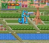 King of the Monsters 2: The Next Thing SNES The Eiffel tower
