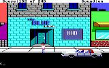 Police Quest: In Pursuit of the Death Angel DOS Outside of the Blue Room. (EGA/Tandy/MCGA)