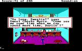 Police Quest: In Pursuit of the Death Angel DOS In the motorcyle hangout, Marie, Sonny's old girlfriend, is here. (EGA/Tandy/MCGA)