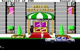 Police Quest: In Pursuit of the Death Angel DOS Going undercover at the Hotel Delphoria. (EGA/Tandy/MCGA)