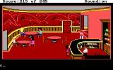 Police Quest: In Pursuit of the Death Angel DOS The hotel lounge. Marie is at the bar. (EGA/Tandy/MCGA)